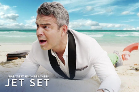 What (and Who!) Would Andy Cohen Want if He Was Trapped on a Desert Island?