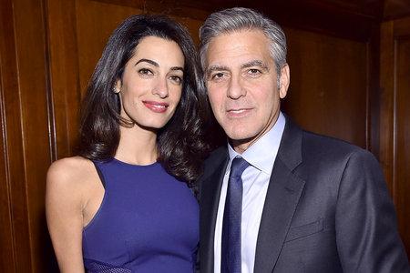 George and Amal Clooney European Babymoon Before Twins | JetSet