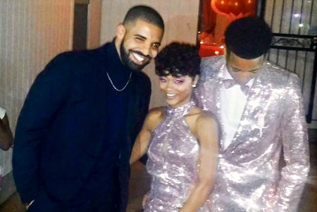 Drake Attends Prom With His Cousin Photos The Daily Dish