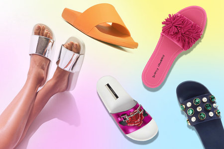 614d68a53b4532 Pool Slides Are Summer s Must-Have Shoe
