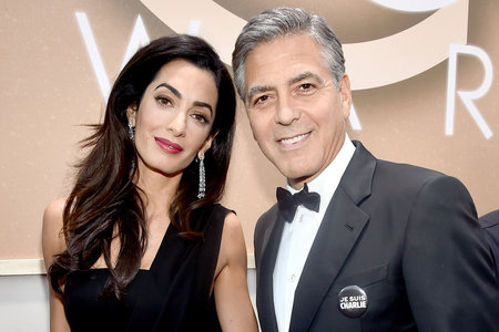 Amal Clooney Gives Birth, George Is