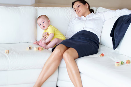 Counting Kid Time, Working Moms Work Nearly 100 Hours Per