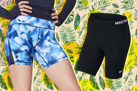 Girl up shorts no panties with you