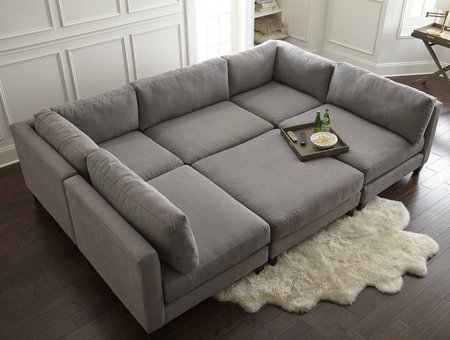 Best Oversized, Comfortable, Stylish Sofas And Couches: Shop | Style & Living