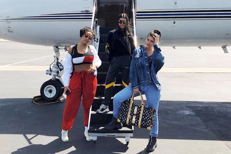 26f73da36c15 The Kardashian-Jenners Flew Private to Coachella, Which Is a Thing Now