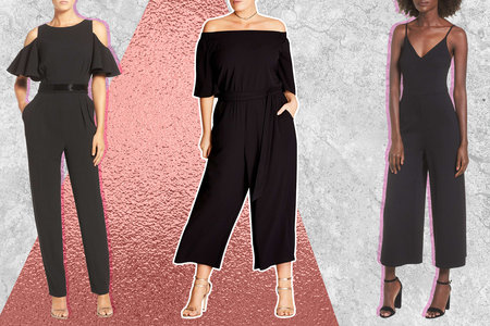e84297837455 13 Perfect Black Jumpsuits You Can Wear Absolutely Anywhere
