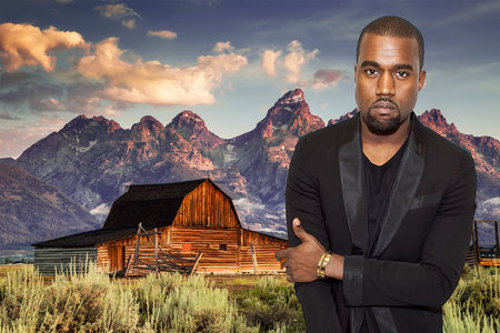 """Kanye West Loves His Wyoming Getaway, But the Feeling Is Not Mutual: """"No More Rappers"""""""