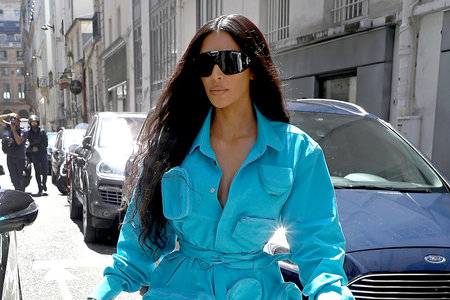 Kim Kardashian Is Back in Paris for the First Time Since She Was Robbed There
