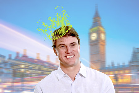 Shep Rose Escaped Airport Hell to Party Like Royalty in London