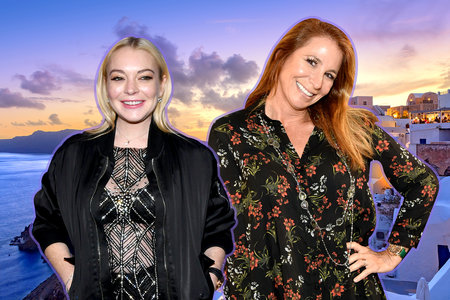 Jill Zarin Went to Lindsay Lohan's Club Opening in Greece, and Ran Into This Bravo Star