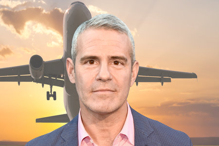 Andy Cohen Spent 7 Hours on an Airplane That Turned Back After an Epic On-Board Toilet Fail