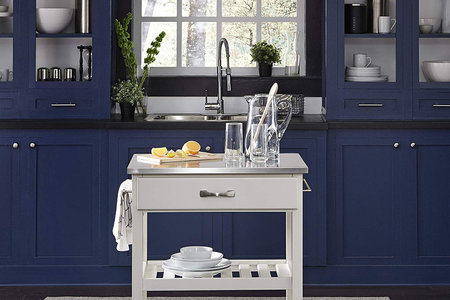Mobile Kitchen Carts Provide Extra Counter Space Best To Buy Home