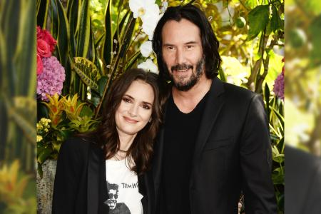 Winona Ryder Says She Is Still Married to Keanu Reeves
