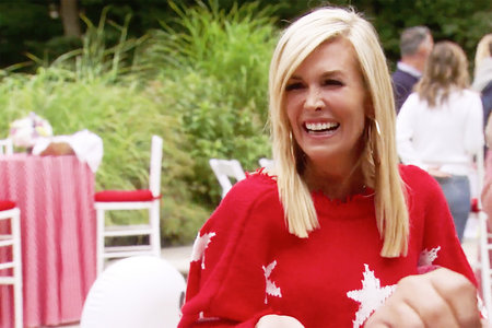 Tinsley Mortimer Wildfox Red Sweater