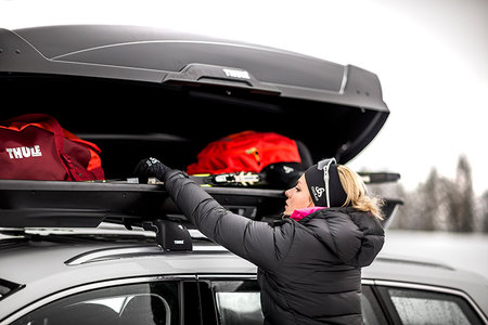 Thule Motion Xt Rooftop Cargo Carrier Product Review Road Trip Car Necessity Style Living