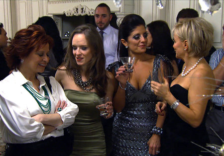 The Best Burns from the RHONJ Reunion   The Real