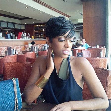 5382a83d5010 Porsha Stewart Gets Halle Berry-Style Haircut