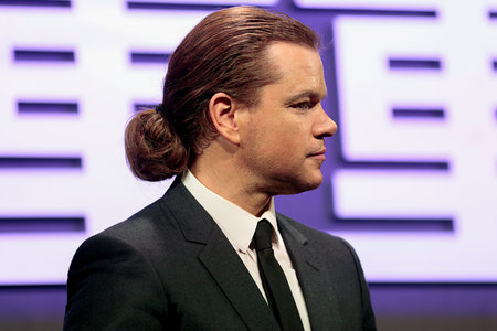 Matt Damon Has a New Man Bun: Photos | Lookbook