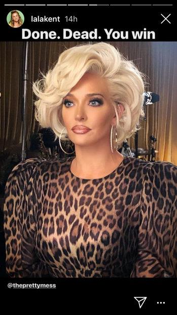 Erika Jayne Girardi Gets Short Marilyn Monroe Esque