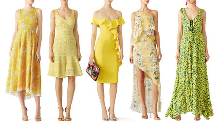5c51072cc8d One color Sarah is loving this year for summer weddings is anything yellow.