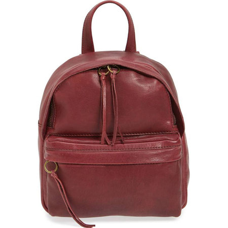 10a9488dde0e This sleek leather backpack is effortlessly cool and easily carries all your  essentials. It s the perfect companion for running around town checking  errands ...
