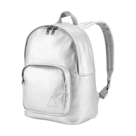 4f60e43ef8a0 This metallic backpack is perfect for everyday errands or to and from gym.  The perfect size