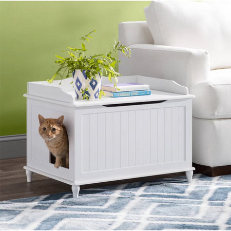 Best Litter Box Enclosure For Cats Wayfair S Archie Oscar Review
