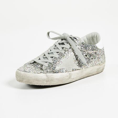 8488efcec5847 Golden Goose Superstar Sneakers in MultiGlitter