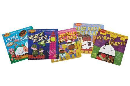 2 Indestructible Nursery Rhyme Book Set