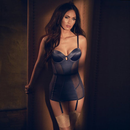 Megan Fox Models Sexy Lingerie For Frederick Of Hollywood Lookbook