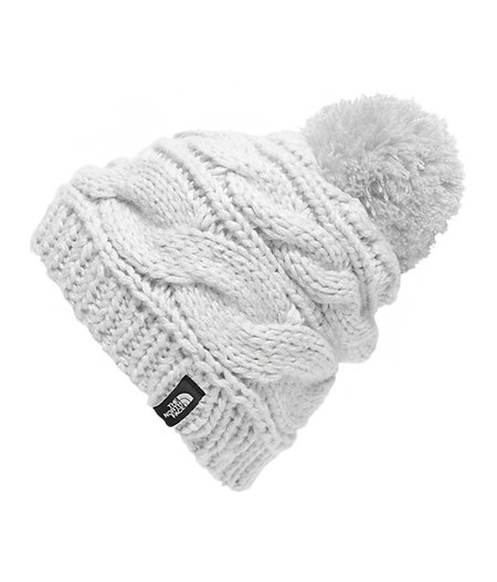 ff694605f2f The North Face Triple Cable Pom Beanie