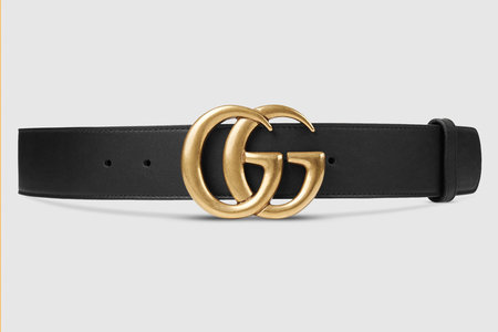 0eefde1befa What s interesting is that the belt is actually part of Gucci s men s  collection—something Justin Theroux already knew