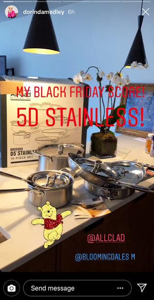 Dorinda Medley S Favorite Kitchen Deal All Clad Kitchen