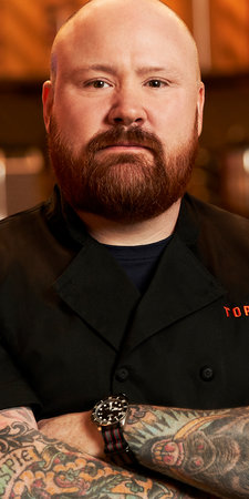 Top Chef Season 17 Bodyshot Kevin Gillespie