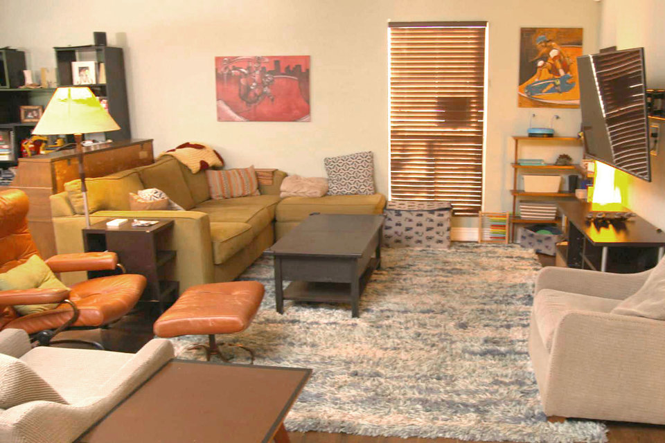 Best Room Wins Before and After: Midcentury-Modern Living ...