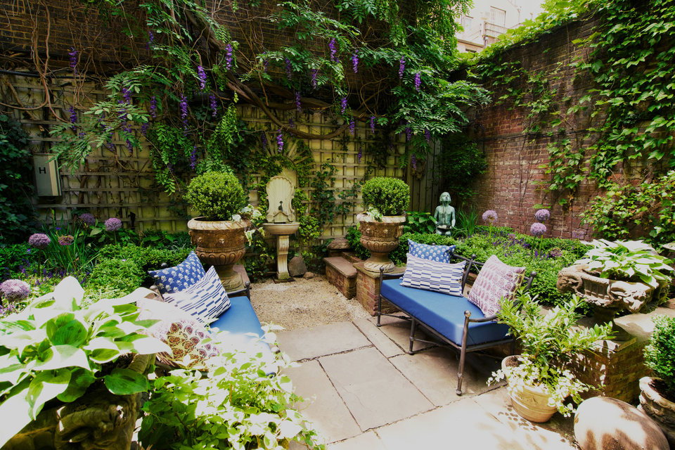Before and After: A Four-Story Garden and a Birthday ...