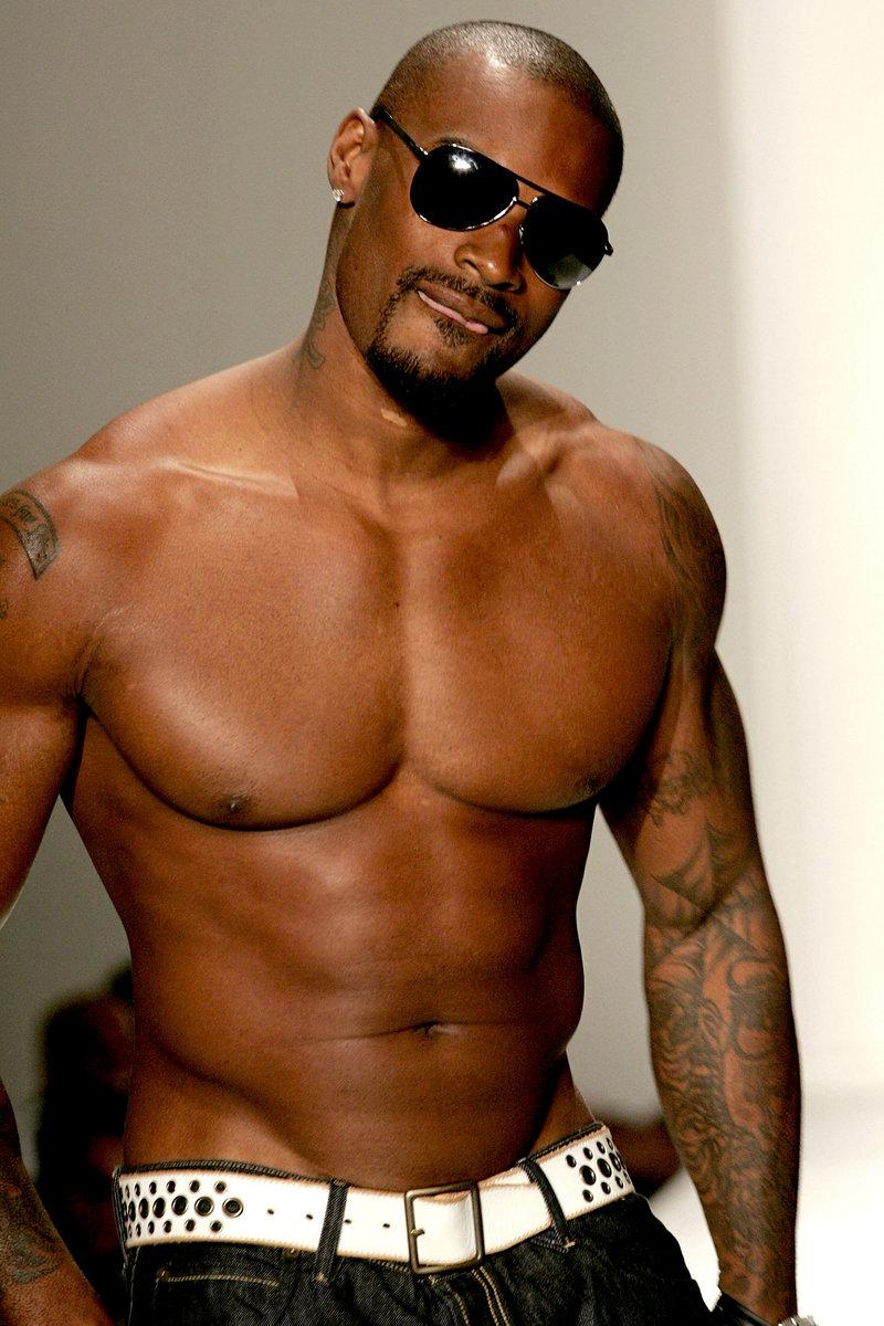 Tyson beckford abs