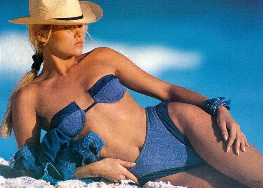 brandi glanville modeling career
