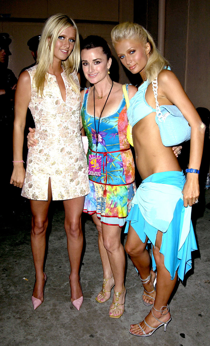 Kyle Richards Nicky Hilton Amp Paris Hilton Through The