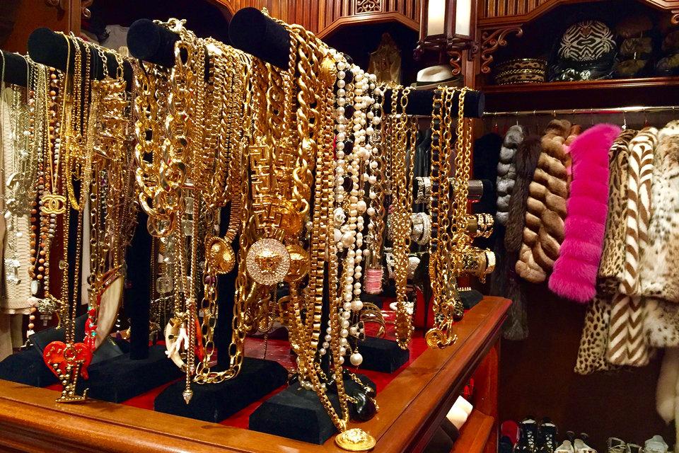 Beautiful Chandelier Closet