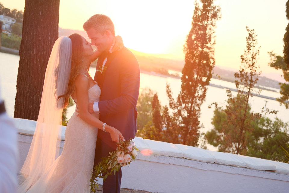 Ryan and Emilia Serhant's Gorgeous Greek Wedding Album