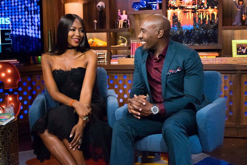 Naomi Campbell Amp Morris Chestnut Watch What Happens Live