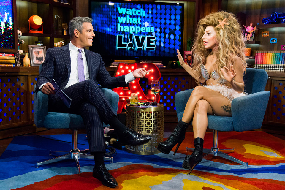 Lady Gaga Watch What Happens Live With Andy Cohen Photos