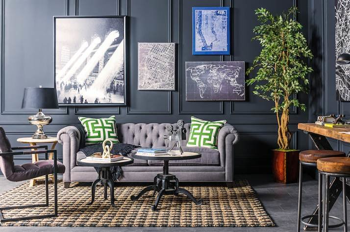 Jeff Lewis' 12 Favorite Designs | Flipping Out Photos on kitchen paint colors with dark cabinets, kitchen shelves instead of cabinets, flush inset cabinets,