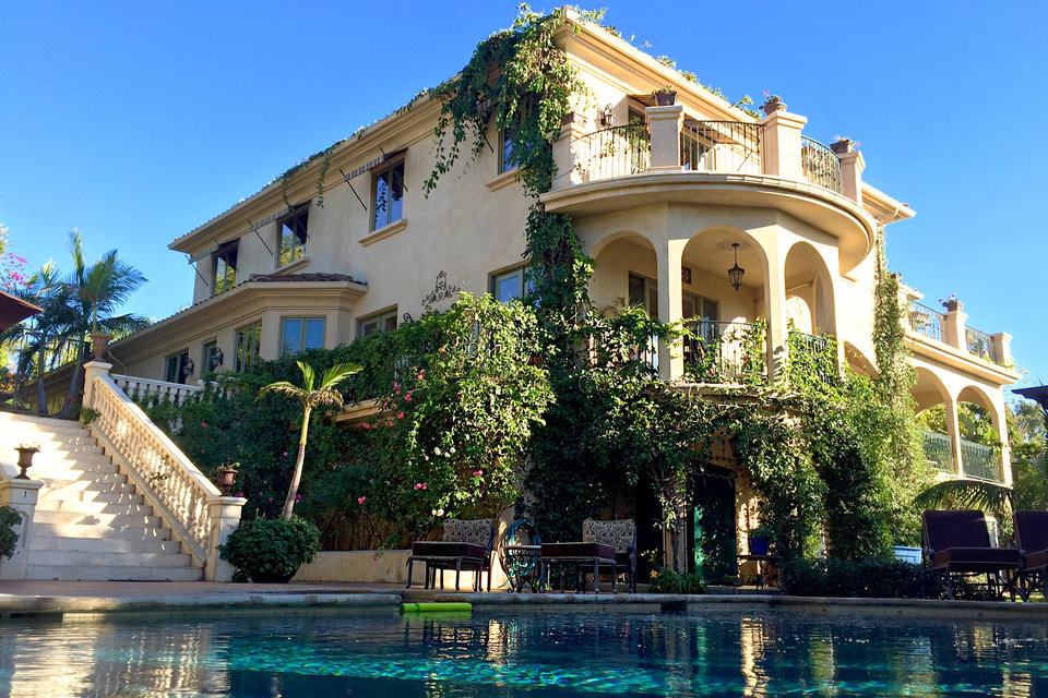 Foto: casa/residencia de Eileen Davidson en Malibu, California