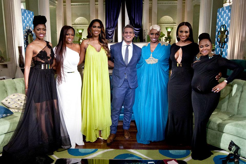 Rhoa Reunion Part 1 Kenya Vs Phaedra The Real Housewives Of