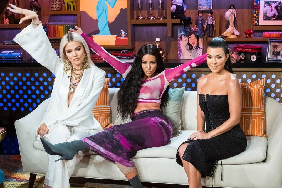 17075896b2c13 Kim Kardashian, Khloe Kardashian & Kourtney Kardashian | Watch What ...
