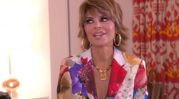 Lisa Rinna's Jewelry Dior Necklace
