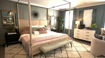 Best Room Wins Before and After: Contemporary Bedrooms