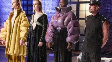 Project Runway Geoffrey Mac Runway Looks Promote